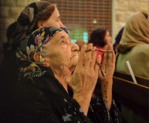 """""""Nadie está enfadado con Dios"""" - Refugiados cristianos en Irak 1"""