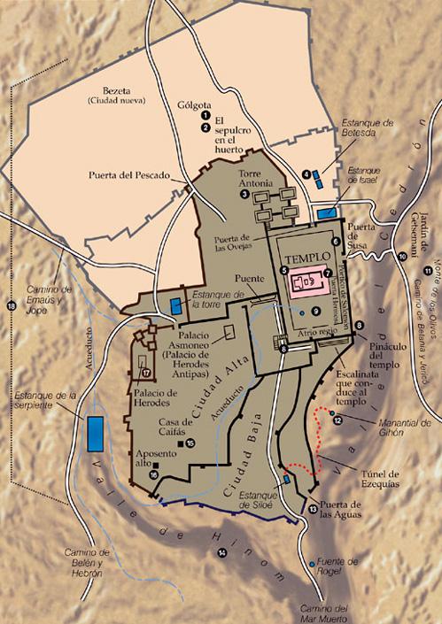 Los cinco lugares más especiales para un cristiano en Jerusalén 6