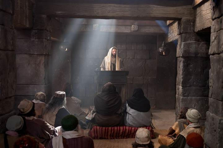 Las ruinas de una Sinagoga del siglo I en Galilea -  ¿Predicó Jesús en ella? 1