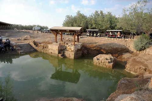 A orillas del Jordán - El lugar donde Juan Bautista bautizó a Jesús, declarado Patrimonio de la Humanidad 2