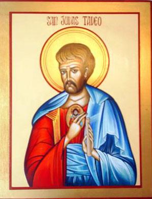 Santos Apóstoles Simón Cananeo y Judas Tadeo - 28 de octubre 2