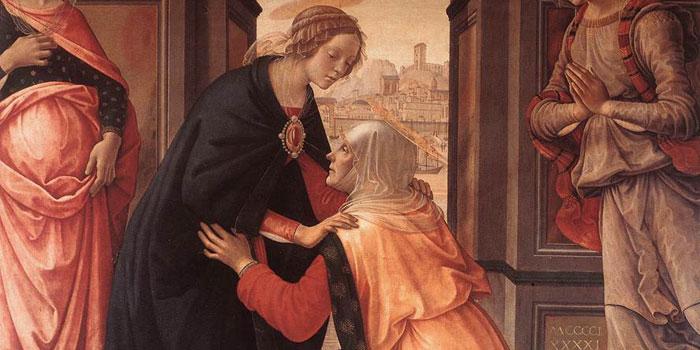 La Visitación de la Virgen a Santa Isabel, en el Cine 1