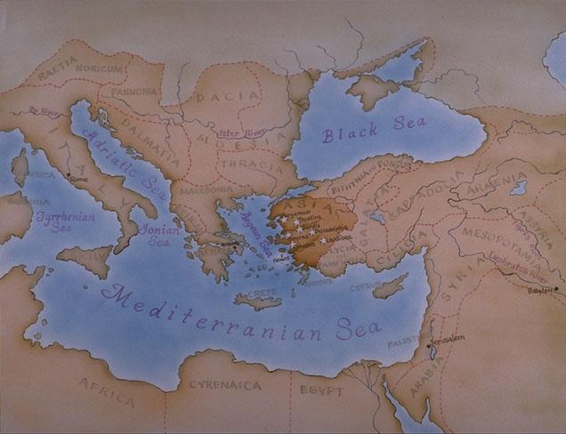 Acta del martirio de San Policarpo de Esmirna (año 155 d.C.) 3