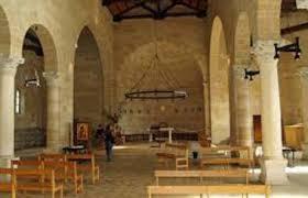 Incendio provocado en la iglesia de la multiplicación de los panes y los peces- Tabgha (Galilea) 2