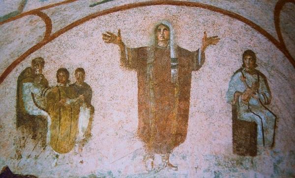 ¿En qué postura rezaban los cristianos primitivos? 1
