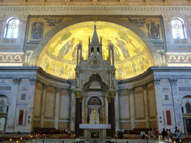 Basílica de San Pablo Extramuros en Roma 4