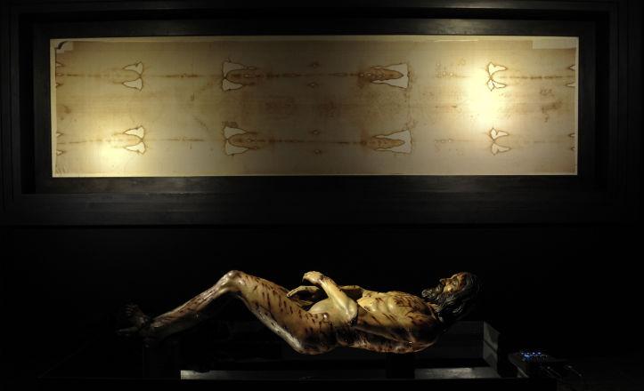 Comienza la muestra extraordinaria de la Sábana Santa de Turín 1