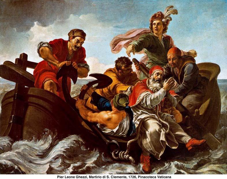 San Clemente, papa y mártir, tercer sucesor de San Pedro - 23 de noviembre 3