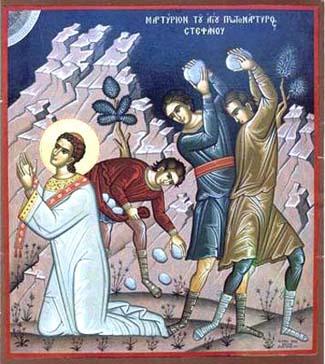 El martirio de San Esteban 1