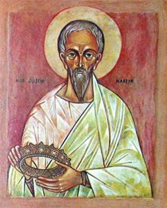San Justino presentado por Benedicto XVI 3