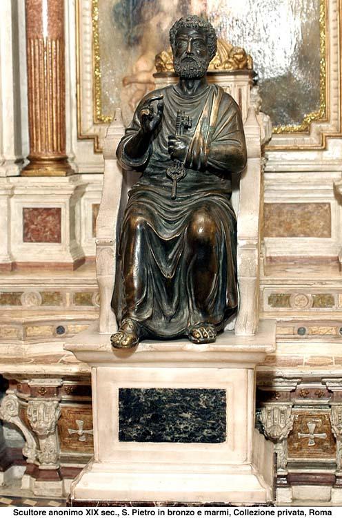 San Pedro presentado por Benedicto XVI 1