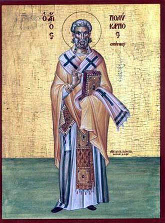 Acta del martirio de San Policarpo de Esmirna (año 155 d.C.) 2