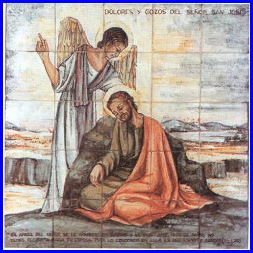 Primer dolor y gozo de San José - Siete Domingos 1