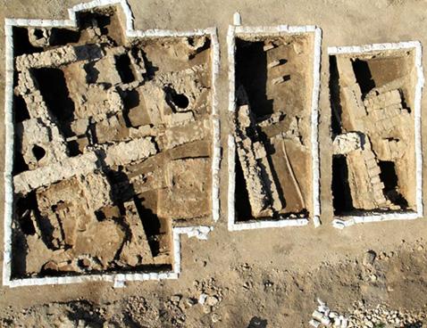 Descubren una antigua iglesia bizantina en San Juan de Acre - Tierra Santa 1