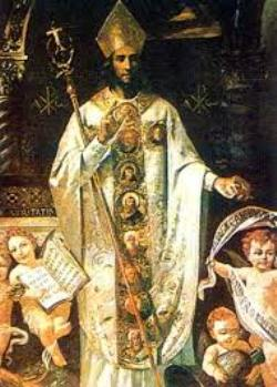 San Paulino de Nola - Su fiesta es el 22 de junio 1