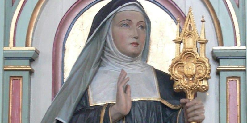 Santa Juliana de Cornillon, impulsora de la fiesta del Corpus Christi - 5 de abril 1