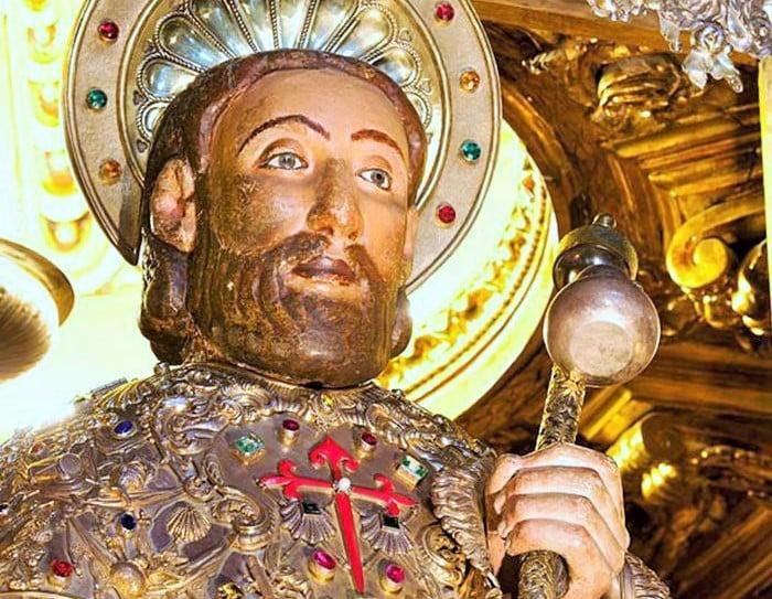 Santiago Apóstol , Patrono de España - 25 de julio 1
