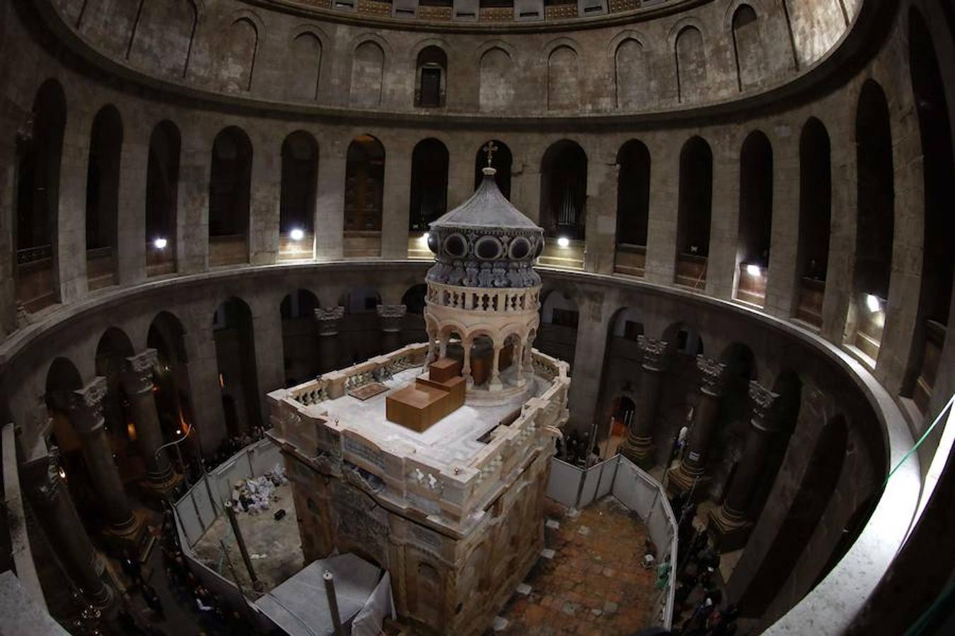 La Tumba de Jesucristo recobra su esplendor - Santo Sepulcro, Jerusalén 2