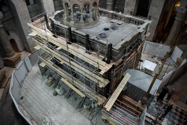 #Jerusalén - Advertencia de expertos: el Santo Sepulcro corre cierto peligro de colapsar 3