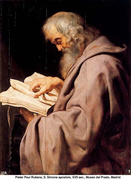 Santos Apóstoles Simón Cananeo y Judas Tadeo - 28 de octubre 1