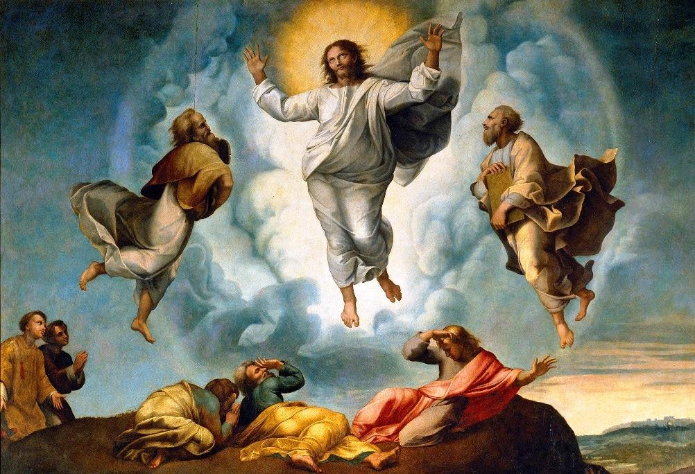 La transfiguración en el monte Tabor 1