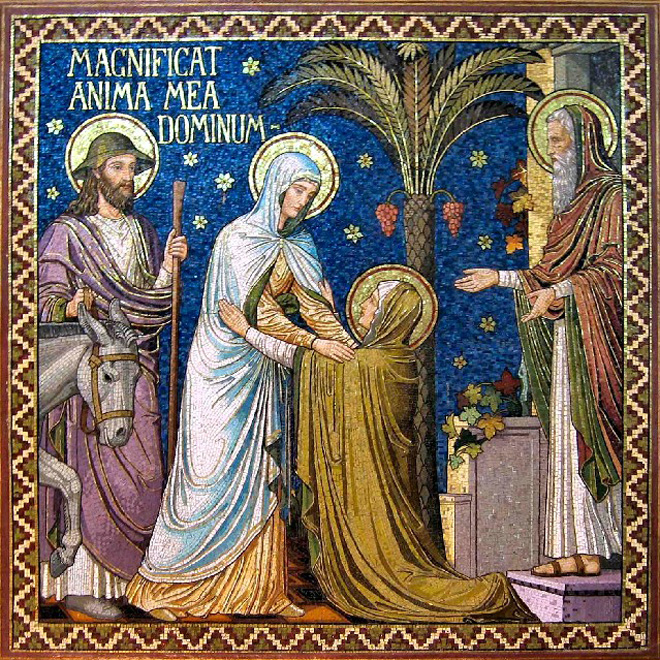 La Visitación de la Virgen María a Santa Isabel - 31 mayo 1