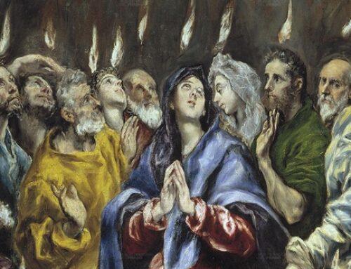 El descenso del Espíritu Santo y la vida de los primeros cristianos