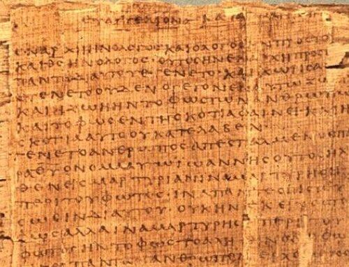 La primera literatura cristiana
