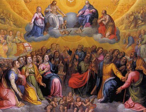 ¡El cielo y la tierra están de fiesta! – Festividad de Todos los Santos