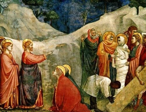 Lázaro, Marta y María, los amigos de Betania