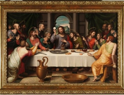 La pascua judía y la Última Cena: institución de la Eucaristía