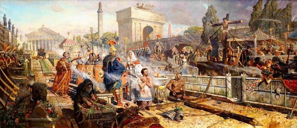 primeros martires de Roma