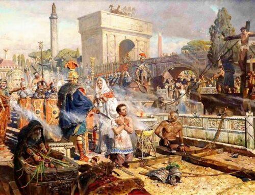 Los primeros mártires romanos – Acusados por Nerón de haber quemado Roma