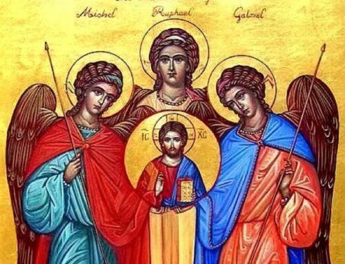 San Miguel, San Gabriel y San Rafael Arcángeles – 29 septiembre