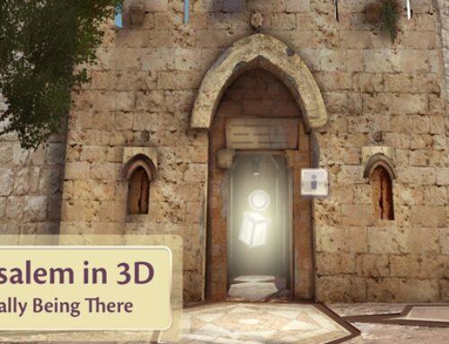 Espectacular viaje virtual en 3D para conocer Tierra Santa sin moverse de casa