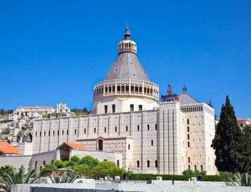 Basílica de la Anunciación en Nazaret – Construída sobre la Casa de María.