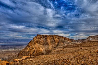 """Masada, también llamada """"la fortaleza"""", es uno de los lugares históricos de Israel 1"""