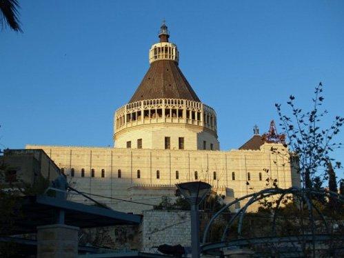 La Gruta de la Anunciación en Nazaret - Tierra Santa 1