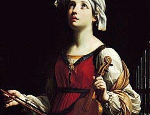 Santa Cecilia patrona de la Música – Benedicto XVI