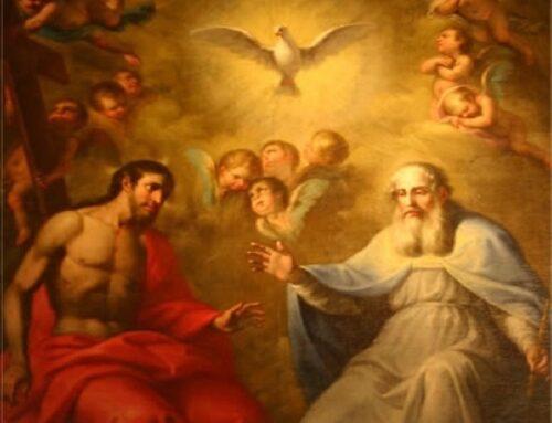 El Trisagio Angélico a la Santísima Trinidad