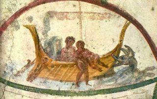 Catacumbas de los santos Marcelino y Pedro (Roma)
