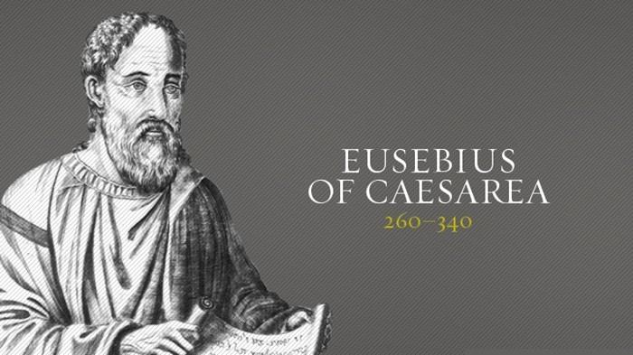 EUSEBIO DE CESAREA - obispo de Palestina (siglo III) 1