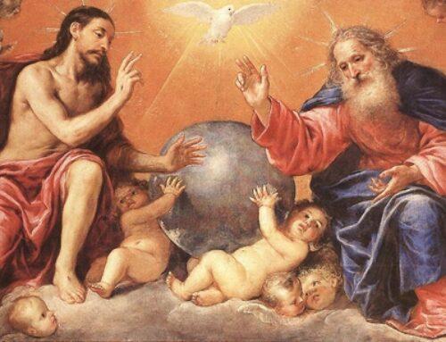 Solemnidad de la Santísima Trinidad –