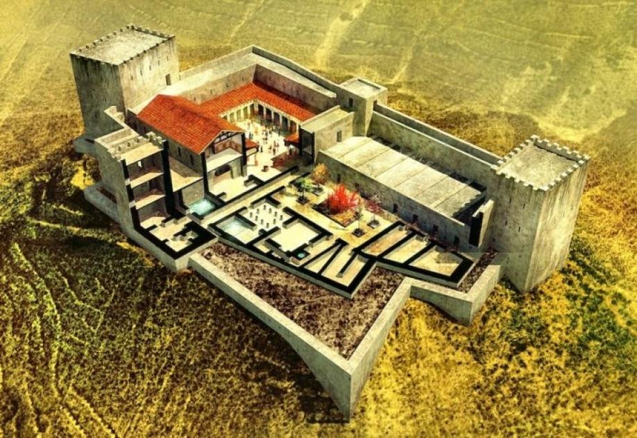 Maqueronte - Hallan baño ritual en la fortaleza de Herodes donde decapitaron a Juan el Bautista 1