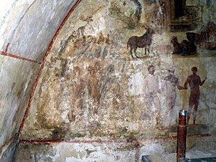 Arqueólogos del Vaticano encuentran pinturas del siglo III ocultas bajo el suelo de Roma 1