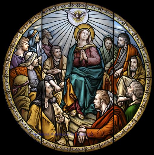 """10º Día Decenario al Espíritu Santo - """"Ven Oh Santo Espíritu, llena los corazones de tus fieles"""" 2"""