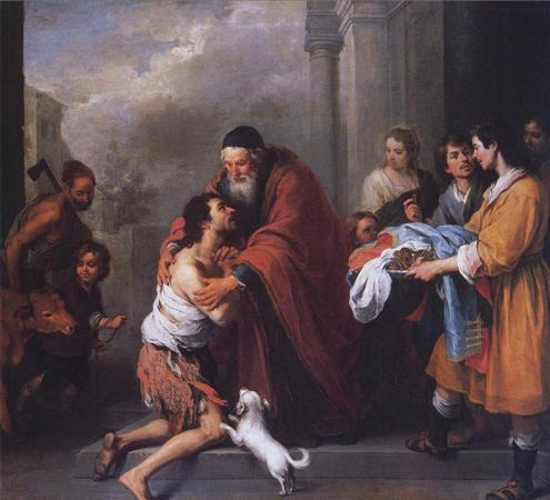 El regreso del hijo pródigo, y el enfado del hijo mayor 1