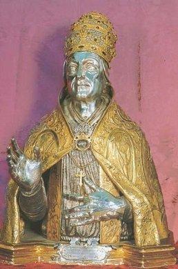 San Lino, Papa y mártir 1
