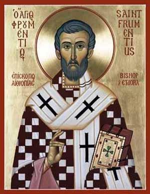 San Frumencio, evangelizador y primer obispo de Etiopía - 27 octubre 2