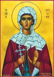 Acta del Martirio de Santa Crispina (año 304 d.C.) 1
